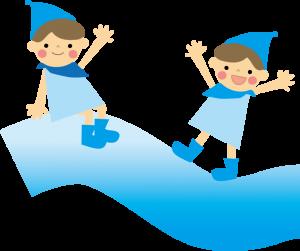 水と子ども