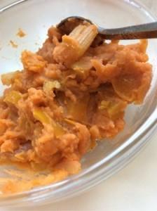 冷凍ポテトでトマトマッシュ