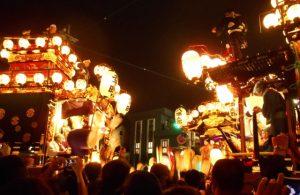川越祭りの山車