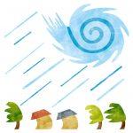 台風の目の意味や中心はどうなってる?運動会の台風の目ってどんな競技?