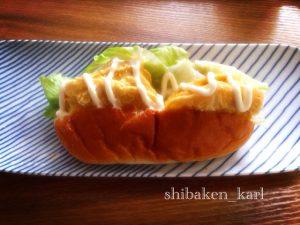 卵焼ドッグパンサンドイッチ