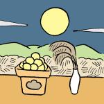 お月見でお供えする月見団子の意味と由来は?関西と関東では違う?