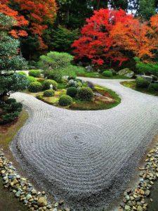 秋の曼殊院庭園