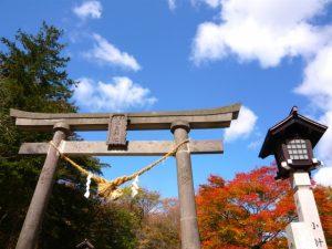 那須温泉神社の鳥居
