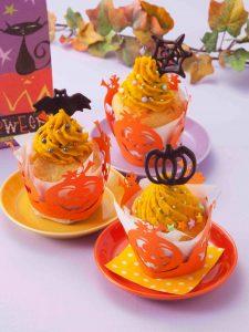 かぼちゃカップケーキ