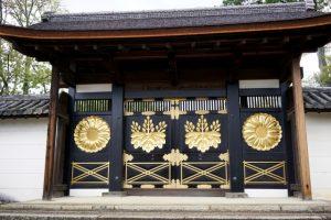 醍醐寺の門