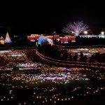 昭和記念公園イルミネーション2016混雑具合や点灯時間は?花火も楽しもう