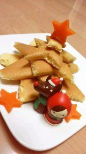 クリスマスツリーケーキ