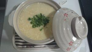 豆腐の雑炊風
