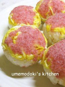 春色手まり寿司